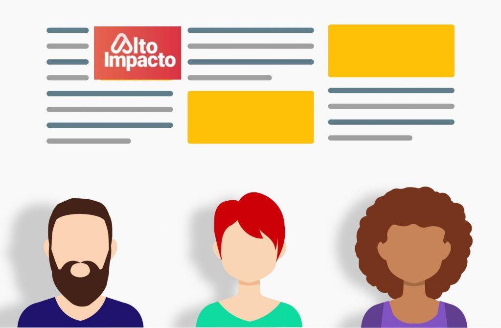 Diseño de textos perfilando clientes.
